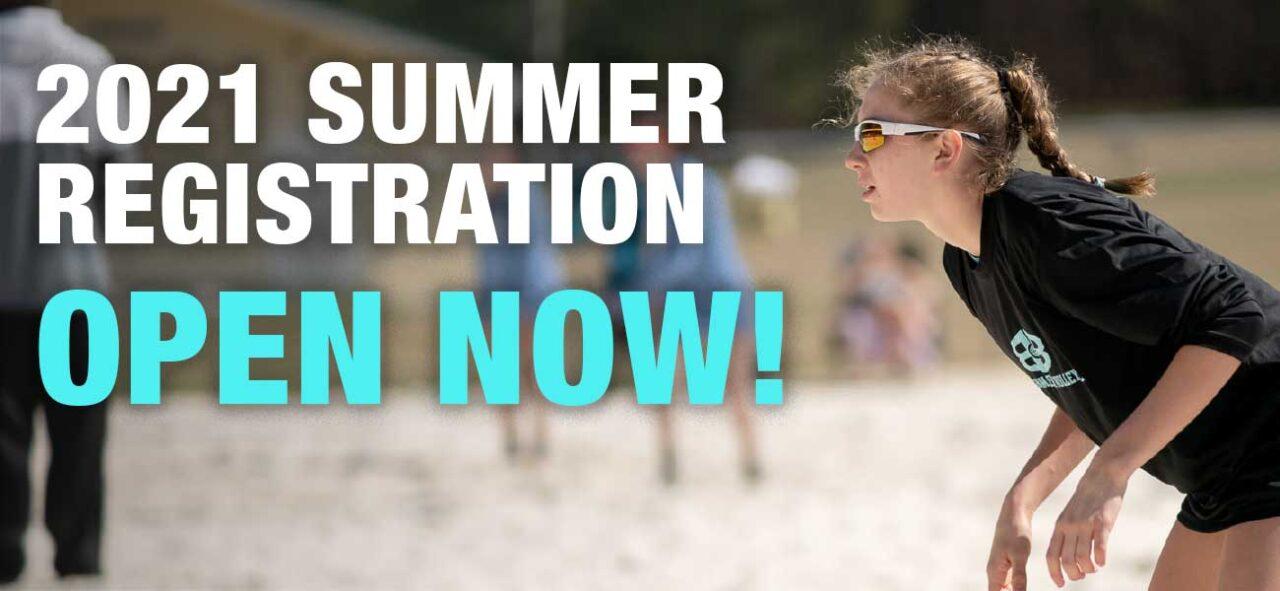 Birmingham Beach Volleyball Registration Summer 2021